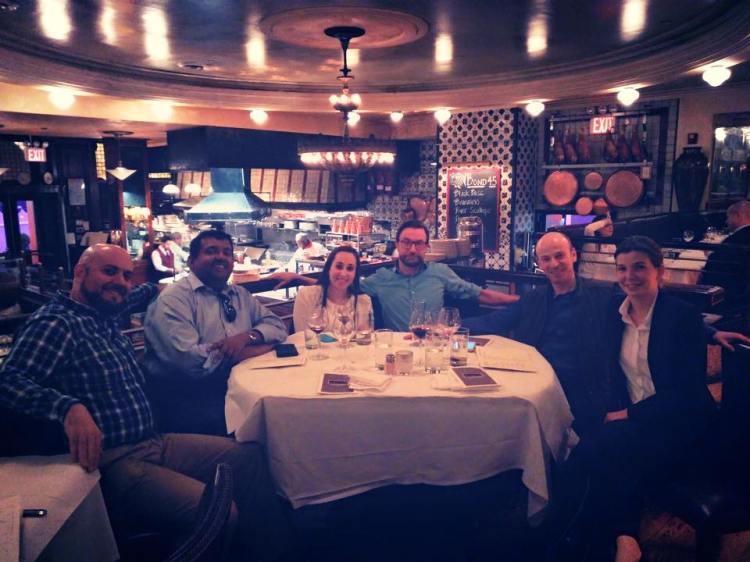 Mongo team dinner
