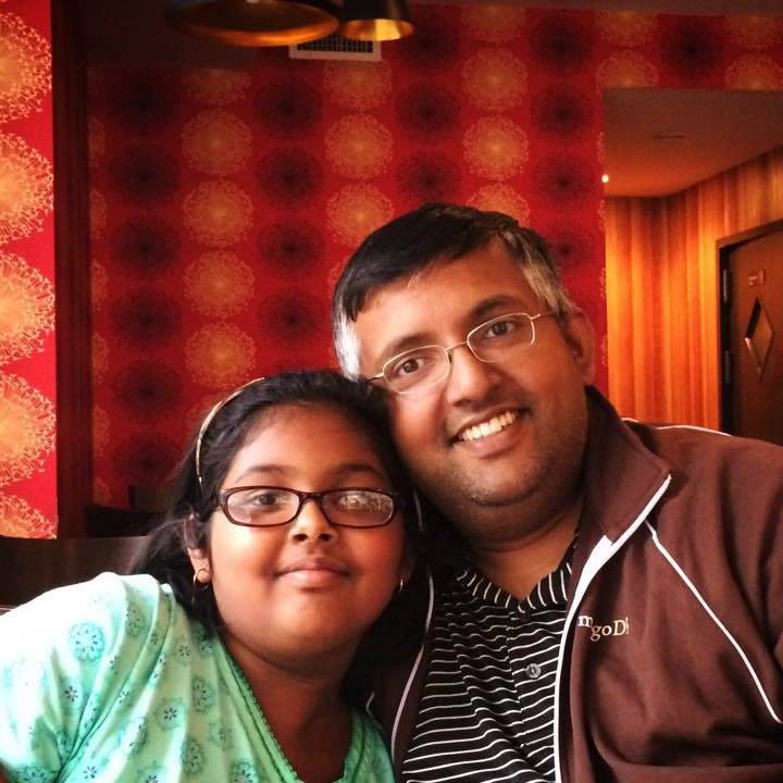 Shreya and me